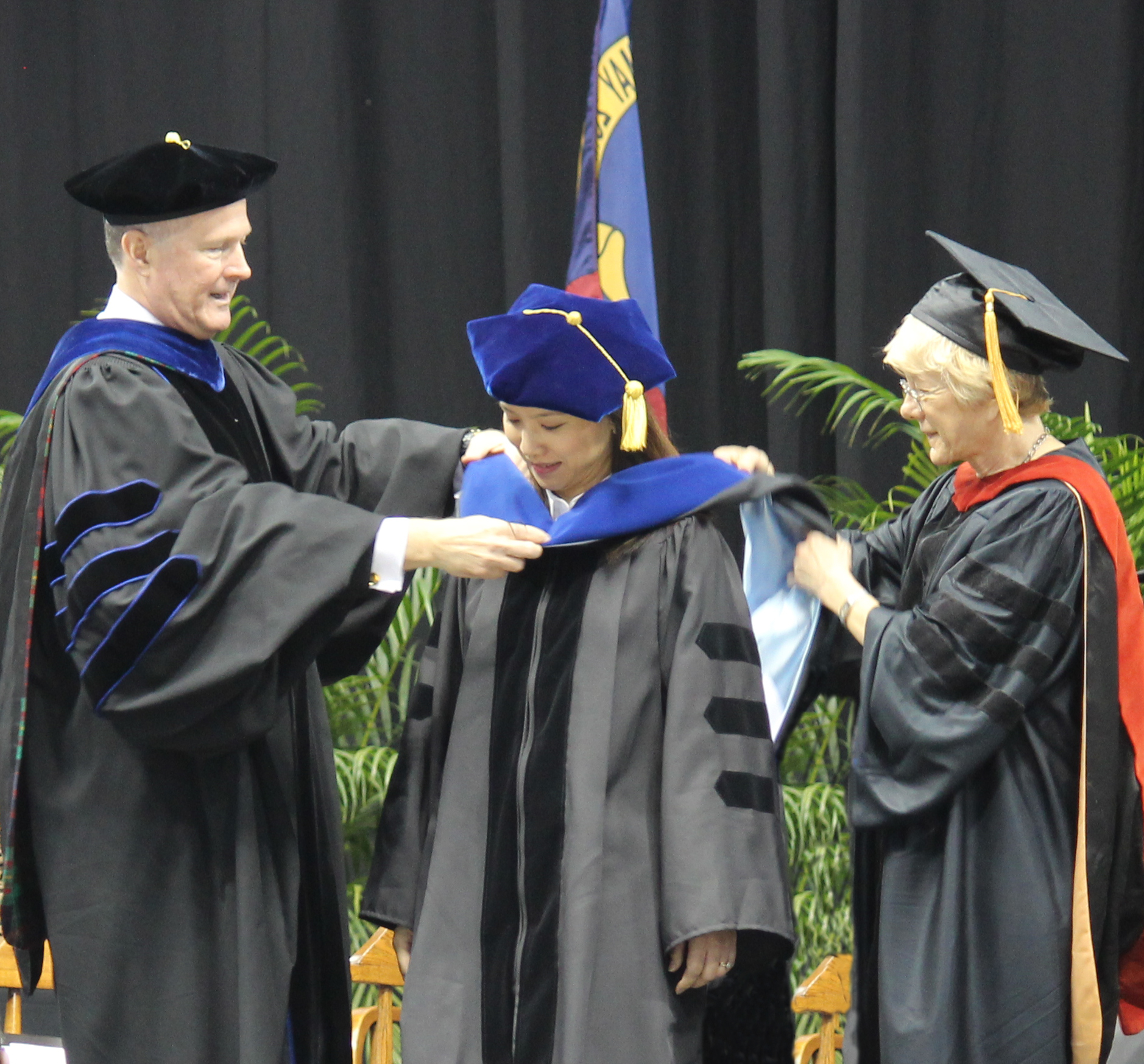 Graduation 2015:  the Hooding Ceremony