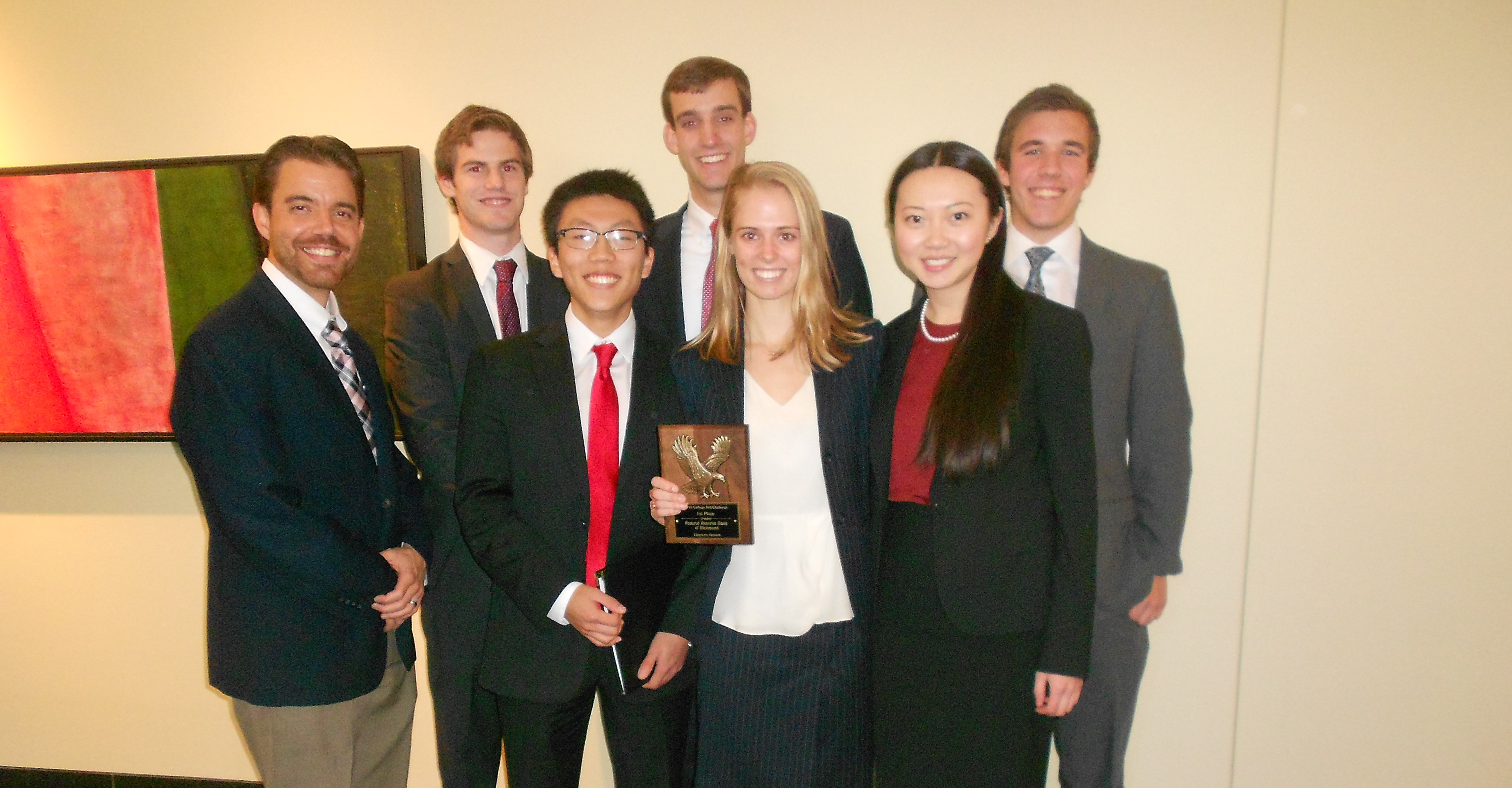 Fed Reserve Challenge Team is Runner-up in DC
