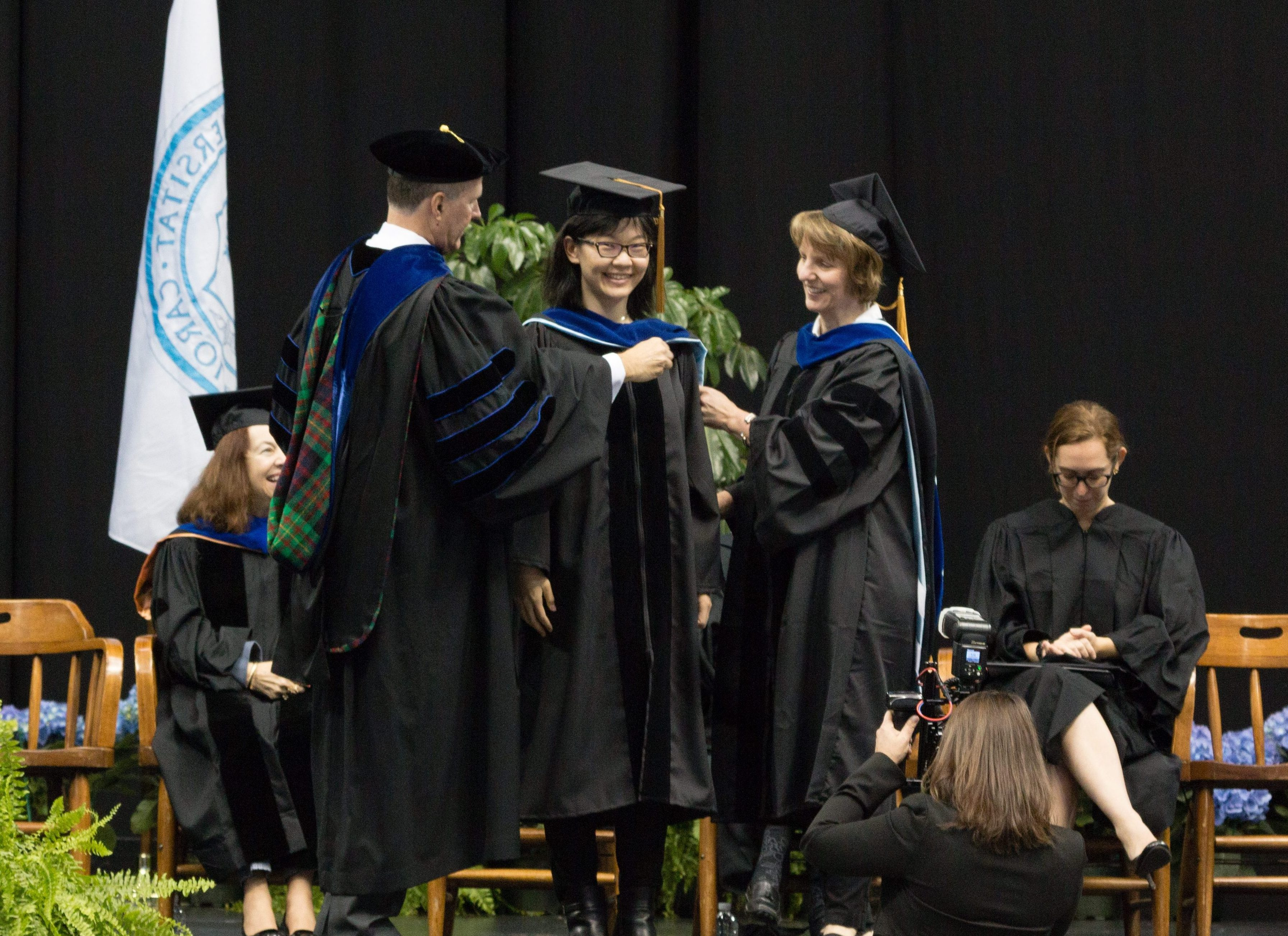 The Hooding Ceremony: May 2017