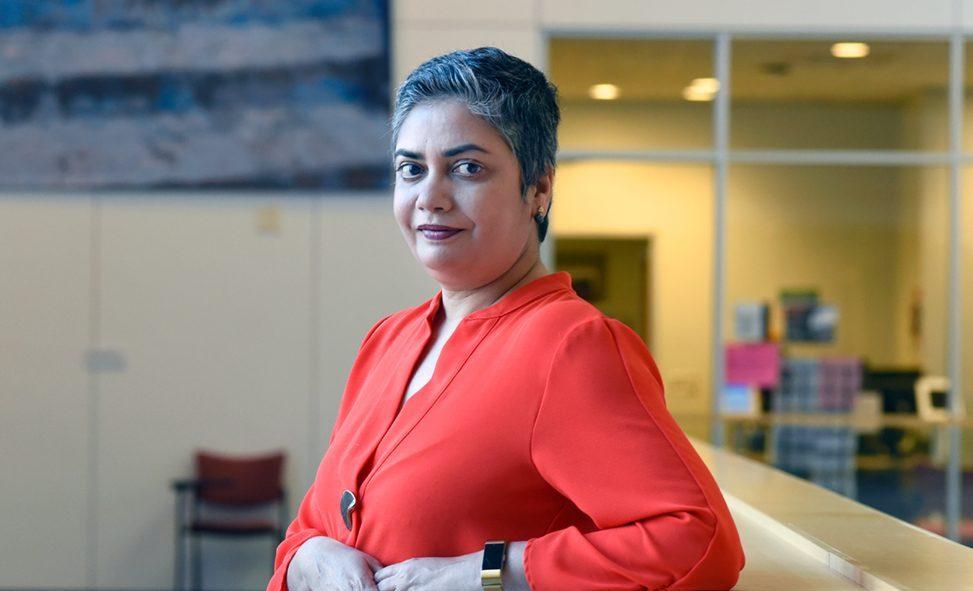 "India Rising: Anusha Chari leads ""Modern Indian Studies Initiative,"" highlighting India's role as an economic powerhouse"
