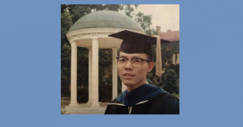 A blessed life: Cliff Huang and his journey from Taiwan to UNC